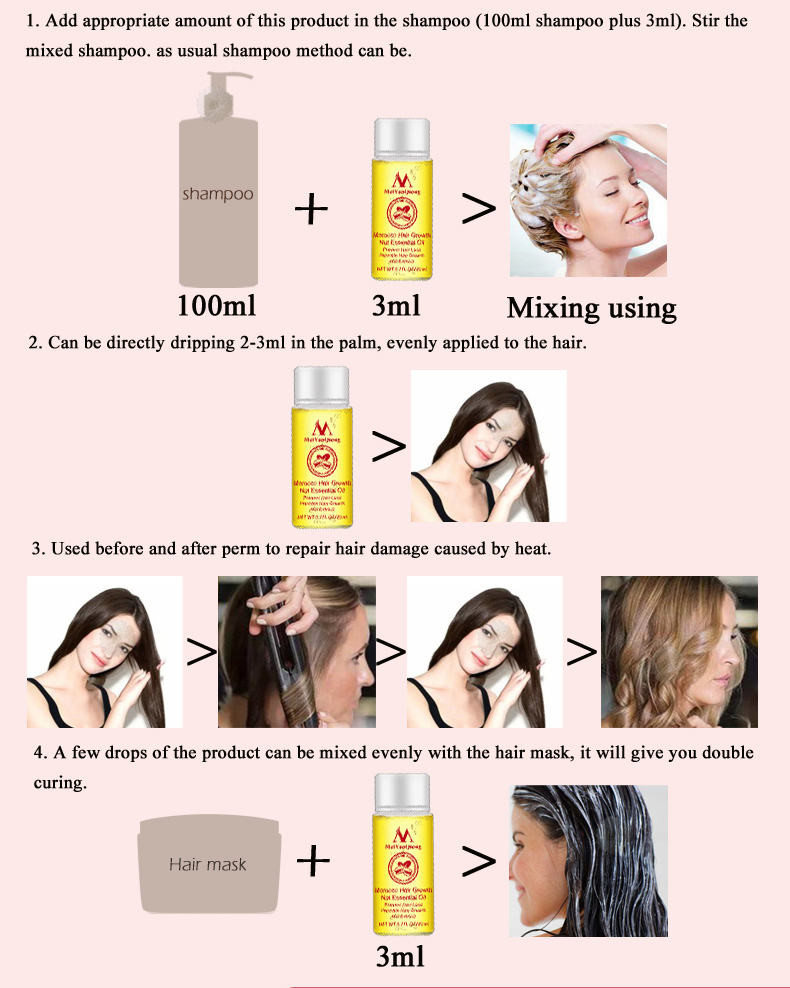Fast Powerful Hair Growth Essence Hair Loss Products
