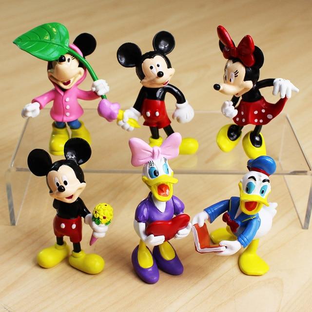 minnie mouse pato donald dos desenhos animados winnie mickey figuras