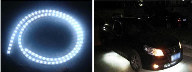 24 cm rot auto led licht interior streifen bar wasserdicht led ...