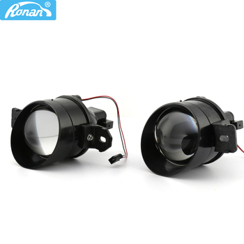 RONAN 3.0inch G2 type full metal bi xenon Fog Light Waterproof projector lens D2S D2H H11 Lamps for For Nissan
