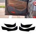 Carro-Styling 2 cores Protetor de Borda Lateral Porta de Proteção Pad Proteção Anti-kick Esteiras Capa Para Hyundai Tucson 2015 2016