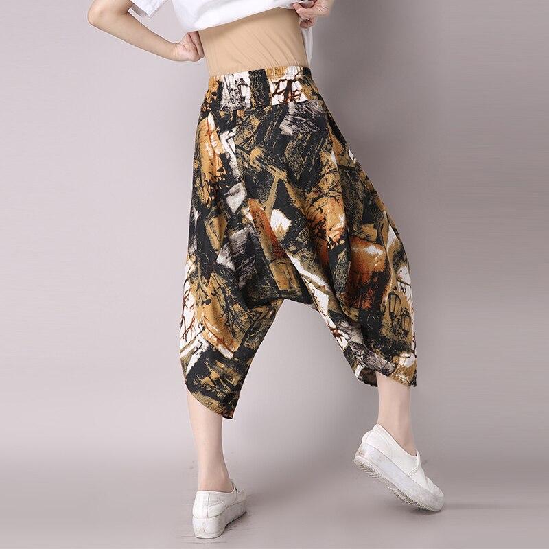 Primavera 1 Nueve Retro Algodón Gran Pantalones De Nuevo 2 Casuales Tamaño rXwrUZq