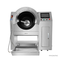 Commercial Roller cooking machine automatic cooking robot hotel/restaurant/canteen fried dishes machine stainless steel cookers