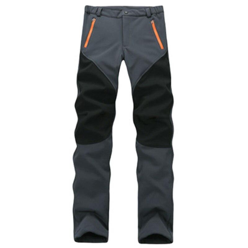 CANDOMOM femmes randonnée pantalon Ventilation élastique Softshell randonnée pantalon mâle extérieur imperméable épais ski escalade pantalon