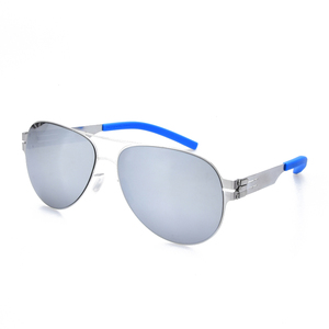 Image 2 - Pilot Brand Designer No Screw Polarized Sunglasses for Men and Women Spectacles Fashional Glasses Oculos with Original Case