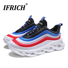 Mens Trainers Sneakers Running Shoes 2019 New Walking Jogging Lightweight Comfortable Athletic Sport Brand