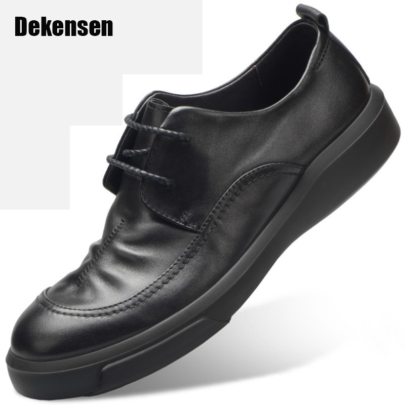 Top Quality Fashion formal mens dress shoes genuine leather black luxury wedding shoes men flats office for male oxford shoes 2017 fashion italian luxury brand formal mens dress shoes genuine leather wedding shoes crocodile men flats office oxfords shoes