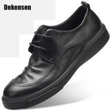 Одежда высшего качества модные вечерние мужские туфли натуральная кожа черный фешенебельные дамские туфли мужские офисные туфли на плоской подошве туфли-оксфорды