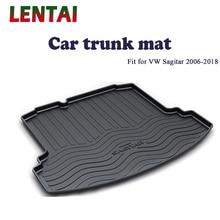 EALEN 1PC rear trunk Cargo mat For VW Sagitar 2006 2007 2008 2009 2010 2011 2012 2013 2014 2015 2016 2017 2018 Tray Accessories цена 2017