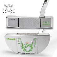 Novos clubes de golfe putter men aço eixo prata 33 34 35 polegada x1 x2 x3 três parágrafo está disponível para escolher freeshipping