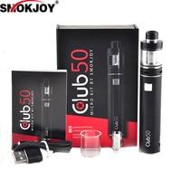 Smokjoy מועדון מקורי תצוגת LCD ערכת 50 מיקרו אלקטרוני סיגריה סוללה מאדה vape mech מכאני סיגריות דואר mod mod