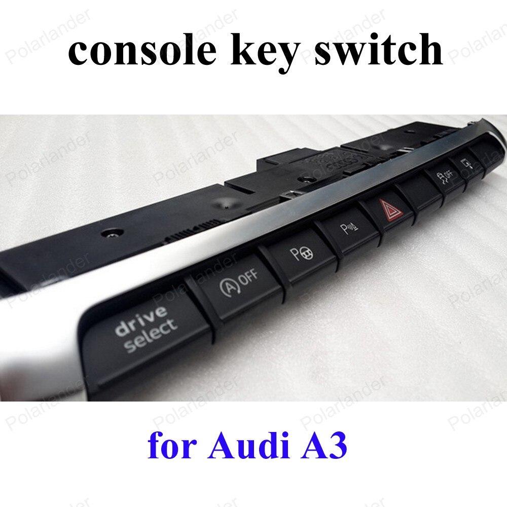 Console touche presse double Flash bouton de commutation pour a-udi A3 commutateur multifonction 8V0 925 301 BM