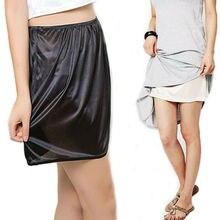 Летние женские повседневные мини-юбки из чистого шелка, сексуальное женское нижнее белье Vestidos, женские свободные короткие юбки, Нижняя юбка