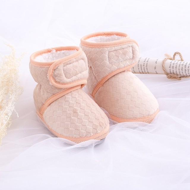 Winter Warm Baby Shoes Boys First Walkers Lovely Girls Toddler Shoes