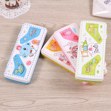 Variable bookcase pencil case  stationery Office and school supplies Plastic  20.1*5.3cm pencil box