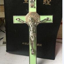 Крест Иисуса статуя католический, христианский ремесел