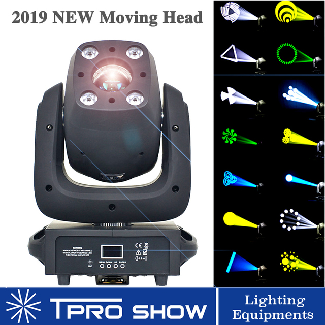 2019 Moving Head Light 140W Led Lyre Head 100W Spot 40W Wash Stage Lighting Effect Gobo Prism Powerful Than 90W for Disco Club