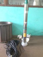Vertical Turbine Pump Deep Well Pump Parts Deep Bore Well Submersible Water Pump For Sale