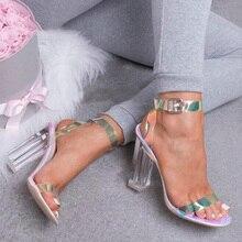 Heels 42 PVC Sandals