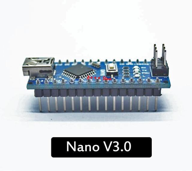 10PCS Nano Mini USB Com o bootloader compatível para arduino Nano 3.0 controlador CH340 driver USB 16Mhz Nano v3.0 ATMEGA328P