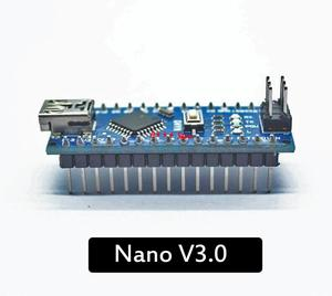 Image 1 - 10PCS Nano Mini USB With the bootloader compatible for arduino Nano 3.0 controller CH340 USB driver 16Mhz Nano v3.0 ATMEGA328P