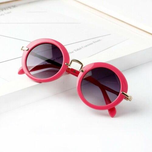 Pudcoco/лето, модные детские пляжные аксессуары в стиле ретро, новые пляжные аксессуары для мальчиков и девочек, уличная пляжная одежда, аксессуары для глаз - Цвет: Rose Red