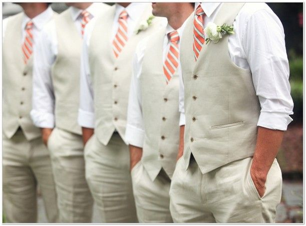 Latest Coat Pant Designs Grey Linen Beach Groomsman Suits Men Wedding Slim Fit 2 Piece Tuxedo Custom Masculino Vest In From S Clothing