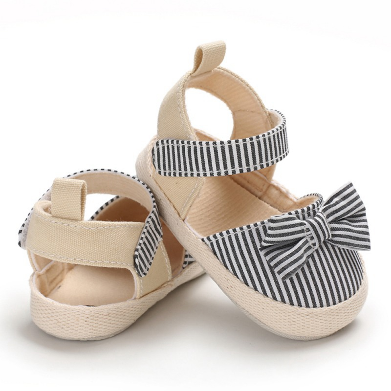2019 Newborn Baby Sandals Baby Shoes Fashion Beach Summer Bowknot Sandals Baby Wear Fashion Baby Girl Shoes Girl Sandals 0-18M