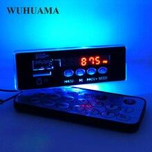 Blu Retroilluminazione A LED Modulo Scheda di Decodifica MP3 WMA Audio TF U Disk GMT + 8 Time Display Modulo DIY