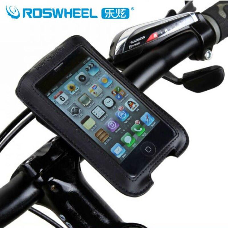 ROSWHEEL Велоспорт сумка мотоцикл Ciclismo велосипед Велосипедный Спорт Телефон Дело сенсорный чехол Руль управления для мотоциклов Чехол для моб...