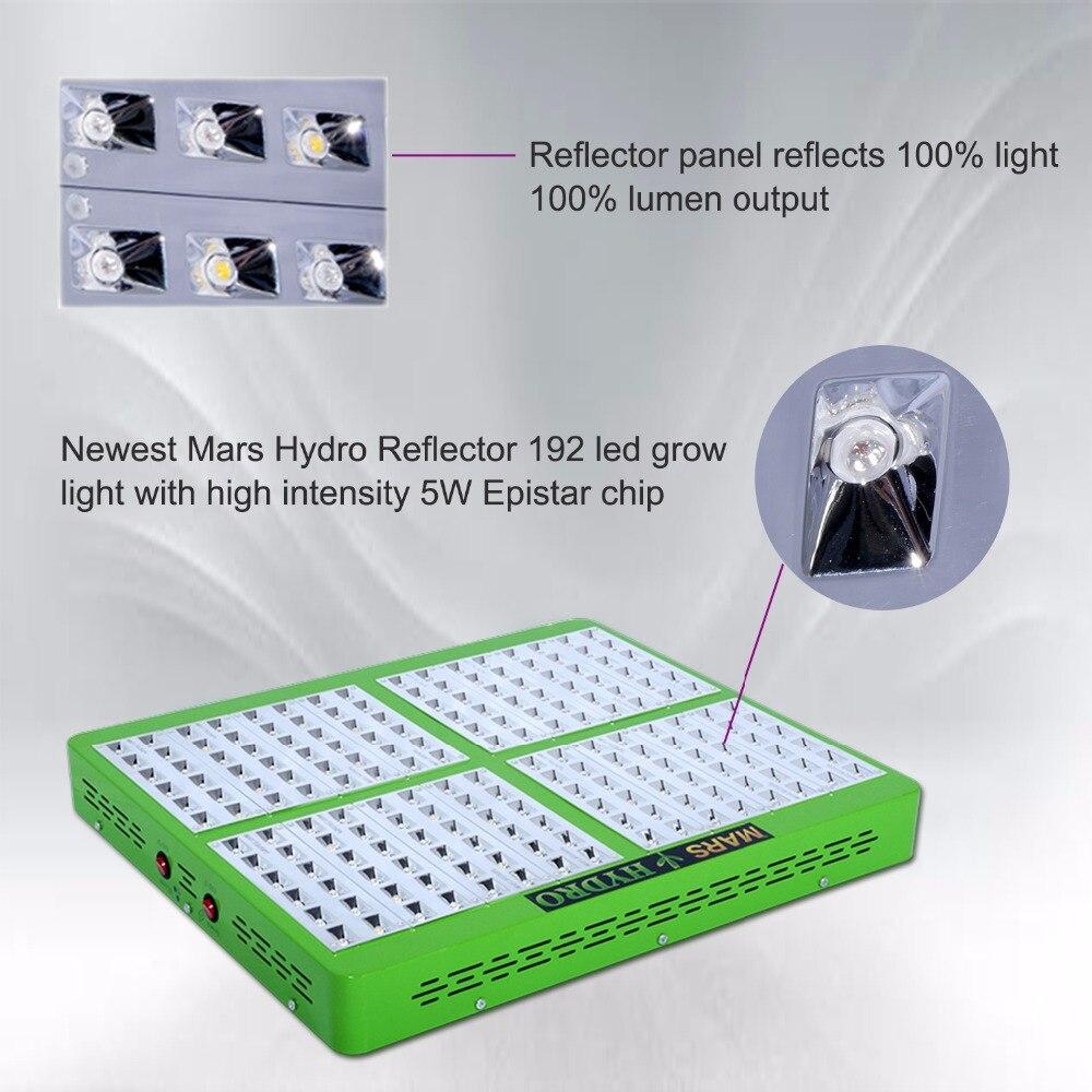 buy mars hydro full spectrum reflector. Black Bedroom Furniture Sets. Home Design Ideas