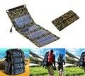 5 v 7 w portable folding painel solar fonte de energia móvel usb carregador para celulares gps câmera digital pda