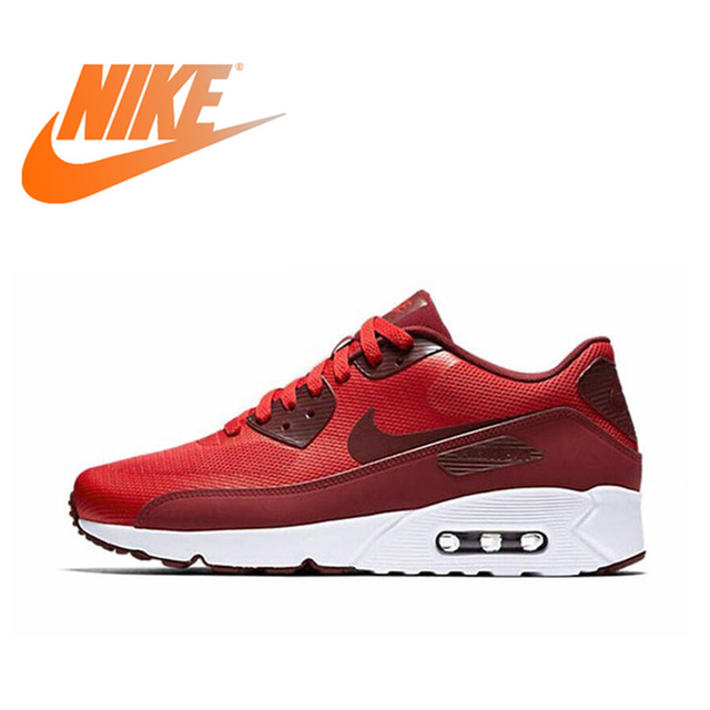 énorme réduction 14f69 873b2 US $119.95 |Official Original NIKE AIR MAX 90 ULTRA 2.0 Men's Breathable  Running Shoes Sneakers Limited Classic Outdoor Leisure Sports 2018-in  Running ...