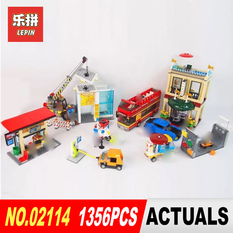New 2018 Lepin 02114 Education Building Blocks Bricks Capital City Compatible with 60200 DIY Toys Funny Birthday Gifts new big size 40 40cm blocks diy baseplate 50 50 dots diy small bricks building blocks base plate green grey blue