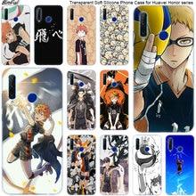 Caliente voleibol anime tee de silicona suave funda del teléfono para Huawei Honor 20 20i 10 9 8 Lite 8X 8C 8A 8S 7S 7A Pro 20 DE MODA