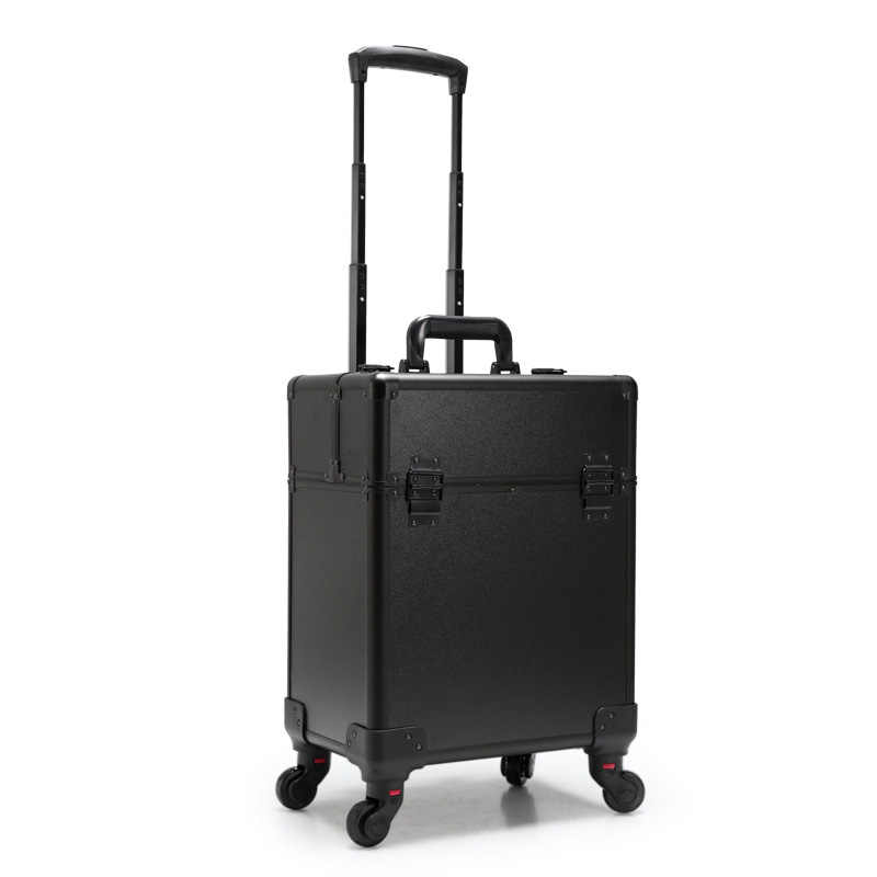 0393ac6fe4ee ... Cosmetic Case luggage profession suitcase for makeup Trolley Box Beauty  professional Luggage travel Cosmetic Bag Universal ...
