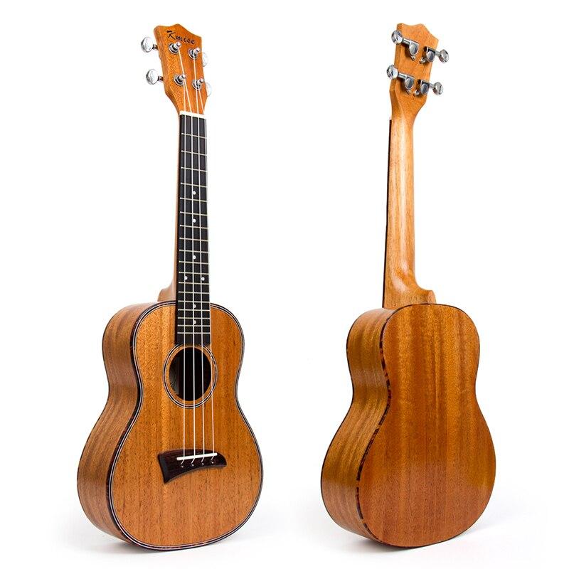 Kmise Concert Ukulele Mahogany Ukelele Uke 23 inch 4 String Hawaii Guitar Celluloid Binding kmise concert ukulele mahogany ukelele uke 23 inch 4 string hawaii guitar rosewood bridge