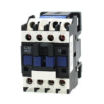 CJX2-0910 690V 3 Poles 3P NC 35mm DIN Rail AC Contactor 380V Coil cjx2 09 motor control 3 poles 1 no coil volt ac 380v contactor