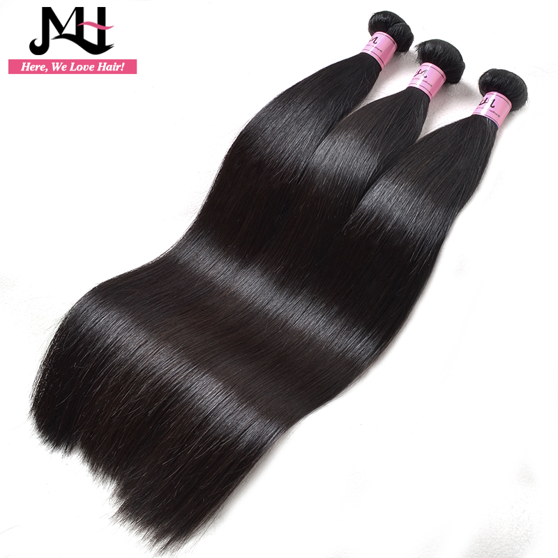JVH Brasileiro Cabelo Weave Bundles Hetero Cabelo Remy Cor Natural 100% Extensão Do Cabelo Humano 8 28 polegada - 3