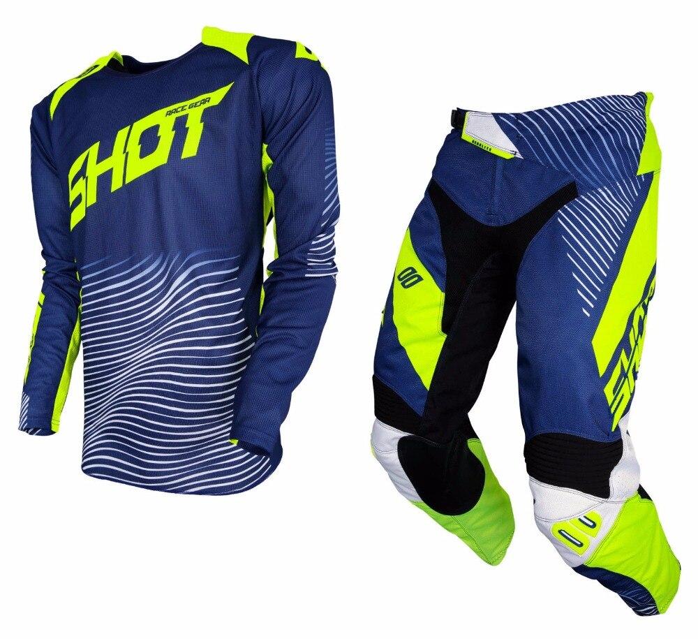 2018 MX RACEWAY Aerolite Optica Gear Set Jersey Pant Combo Motocross Dirt Bike Off Road Racing Riding