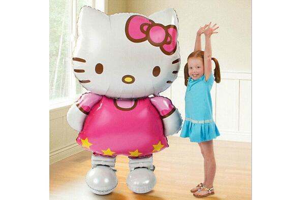 11665cm-Oversized-Hello-Kitty-Cat-foil-balloons-cartoon-birthday-decoration-wedding-party-inflatable-air-balloons-Classic-toys-2