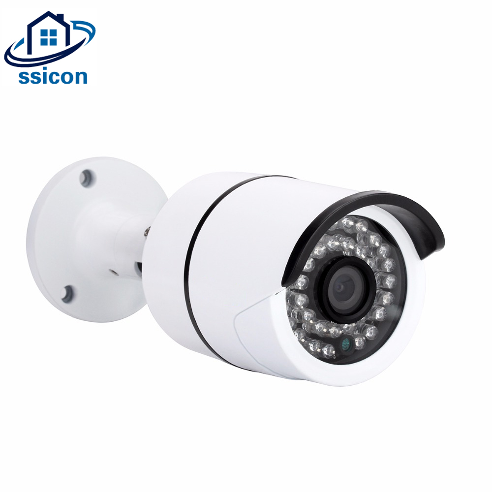 SSICON 4MP Home Surveillance Security Camera Outdoor Bullet Infrared Night Vision OSD Cable Analog CCTV-Camera 20M IR Distance ccd 700tvl bullet camera 24 infrared light night vision home security surveillance cctv outdoor waterproof freeshipping hot