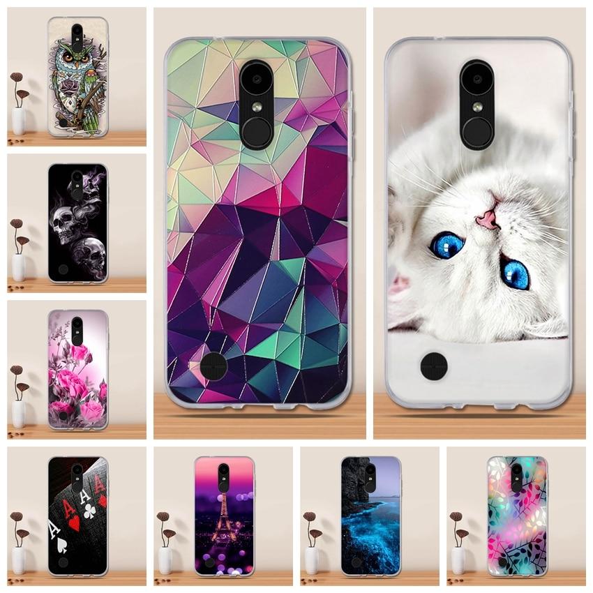 Cover For LG K4 2017 Case Silicone Funda For LG K8 2017 LV1 LV3 LX300 M200N K4 2017 M160 Phone Case Capa Coqu Back Cover Etui