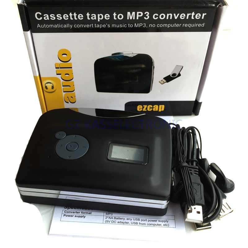 2017 new mp3 cassette player ( convert cassette to U driver directly, no PC required) free shipping