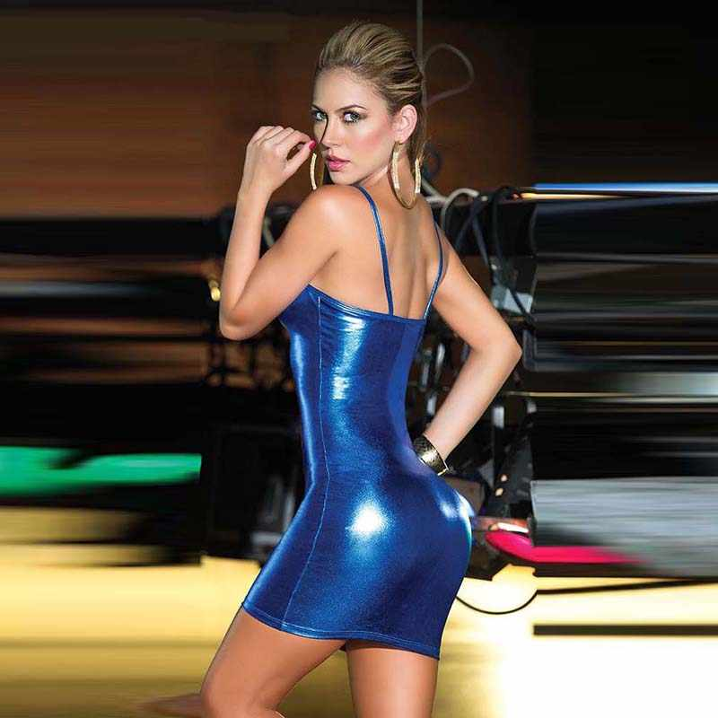 Plus Größe 4XL Sexy Club Party Kleid Low-cut-Mantel Ärmellose Spaghetti Gurt Kleider Frauen Damen Mini Kleid Vorne reißverschlüsse