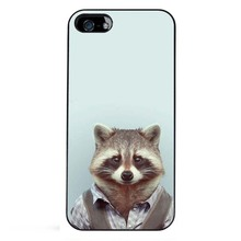 Fashion Man Shape Animal Funny Hot Fashion High Quality Black Bag Case For iPhone 6S Plus