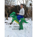 Dinosaurios dinosaurio inflable disfraz de halloween para adultos s hombres fiesta de carnaval de halloween Navidad trajes inflables para adultos