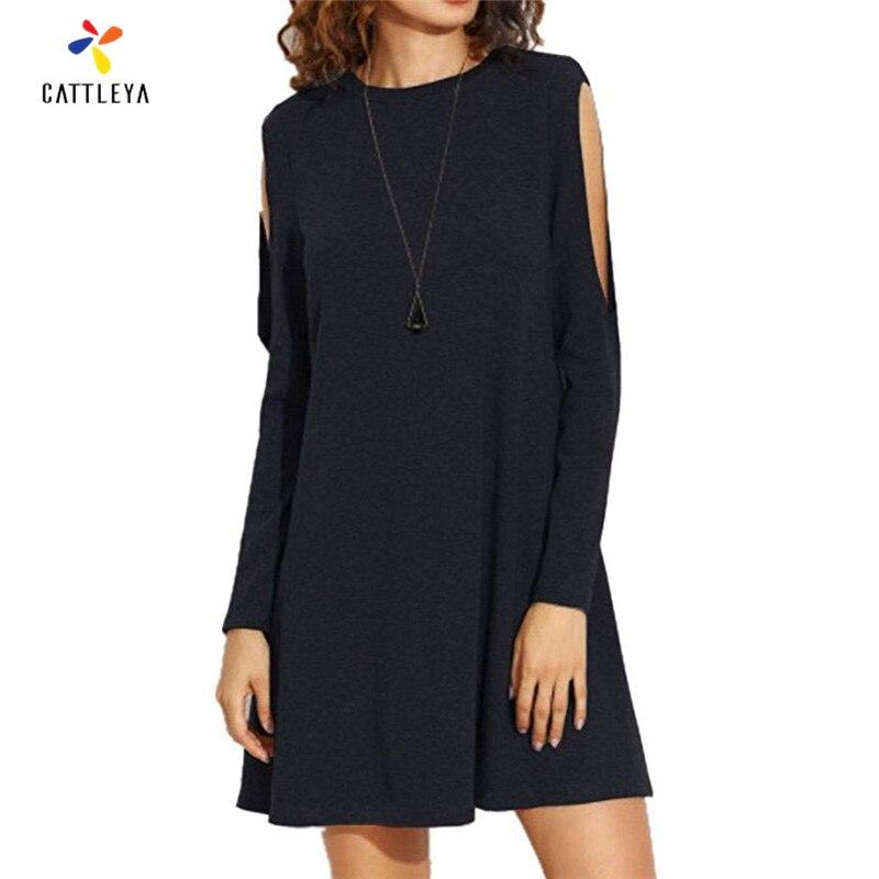 Popular Long Plain Black Dresses-Buy Cheap Long Plain Black ...