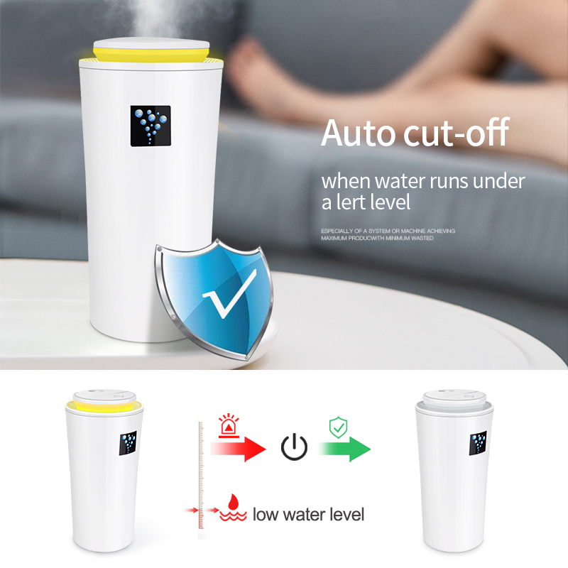 USB Car  Aroma Humidifier Ultrasonic Mist Maker Mini Aroma Essential Oil Diffuser Aromatherapy for Home Office Living Room