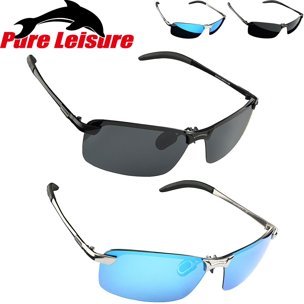 PureLeisure Fly Fishingnight Vision Glasses Camping Fishing Sport Sunglasses Oculos Polarizado Para Pesca Gafas Polarizadas